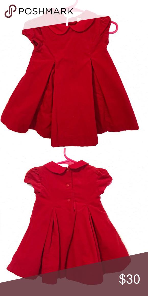 f7bc8c9f Baby Girl Ralph Lauren Red Dress 6 Months Baby Girl Ralph Lauren Red ...
