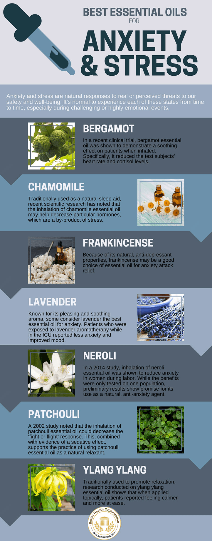 Essential Oils For Anxiety And Stress Best Essential Oils For