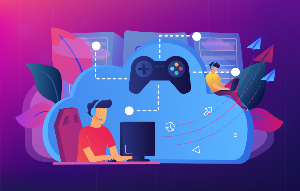 Cloud Gaming: Video Game Playing On The Go | Cloud gaming, Games to play,  Marketing