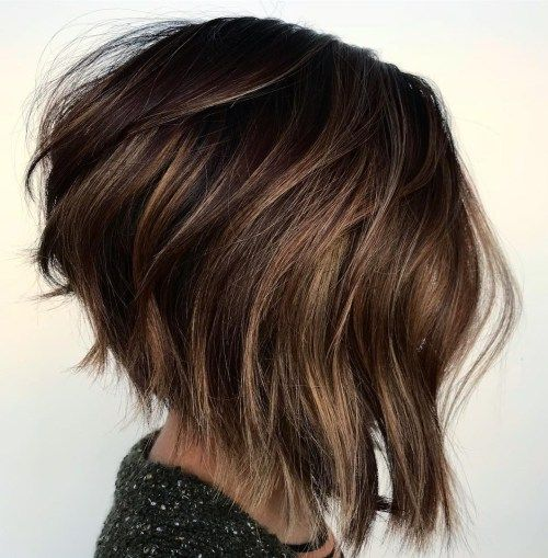60 Most Beneficial Haircuts For Thick Hair Of Any Length Haarschnitt Bob Haarschnitt Fur Dickes Haar Haarschnitt