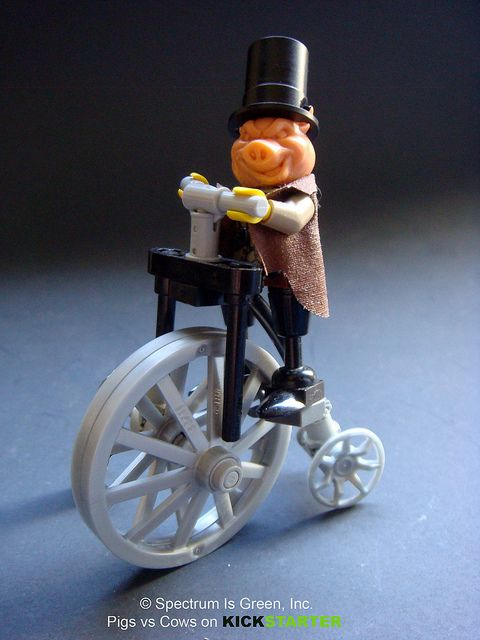 Penny Farthing Pig