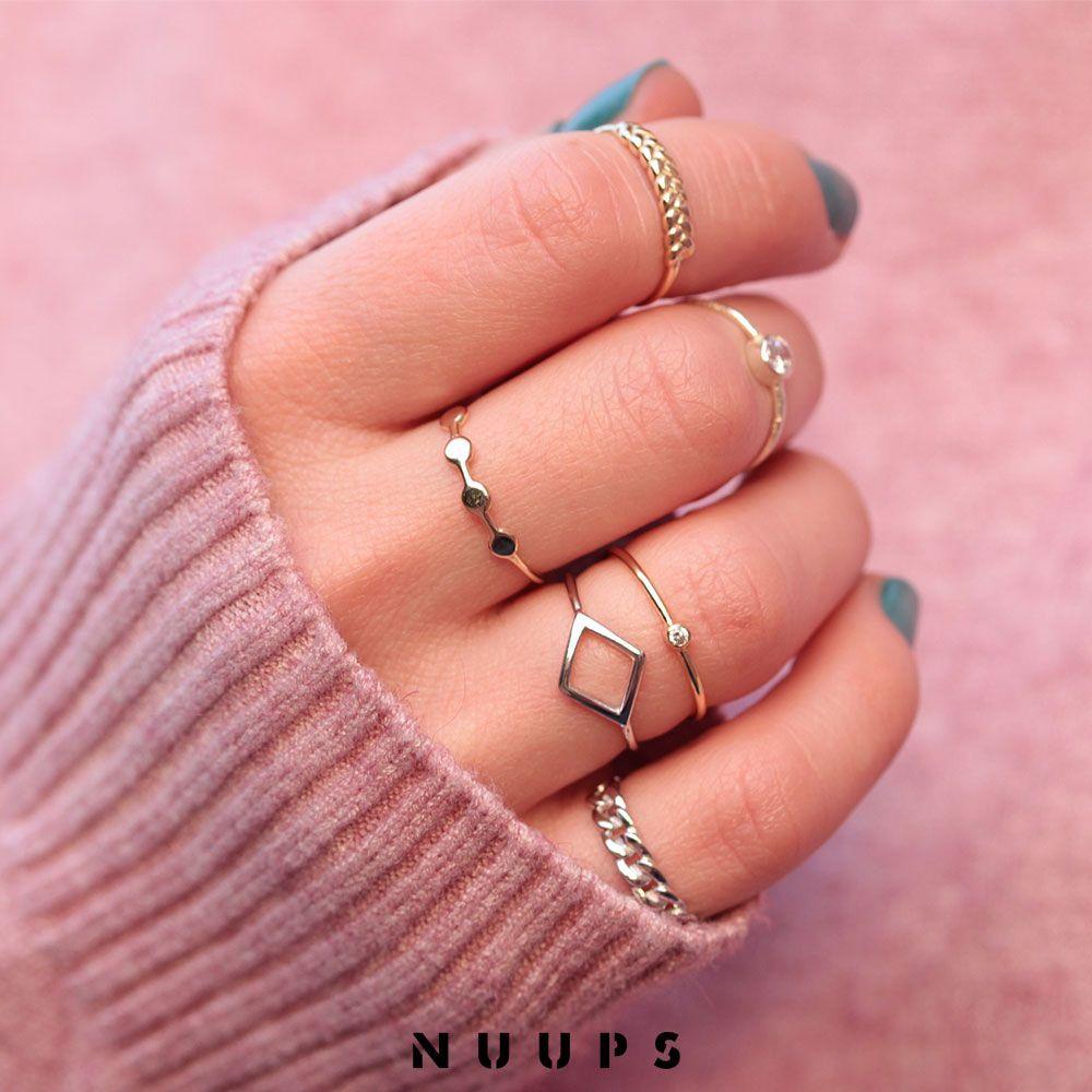 Anillos finos de plata nuup #anillos finos de plata nuups | oro ...