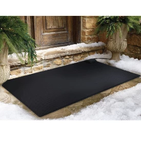 Heated Snow Melting Mats for Your Home Heated Floor Mats