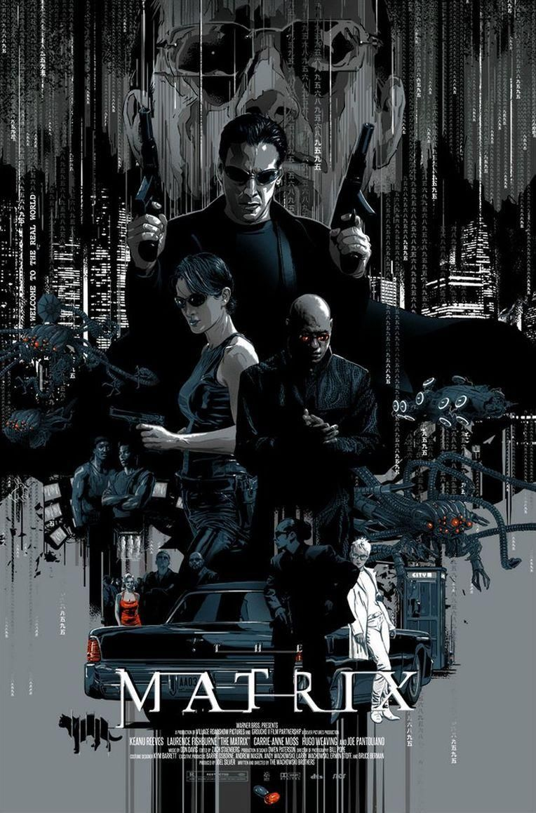The Matrix 1999 Hd Wallpaper From Gallsource Com The Matrix Movie Best Movie Posters Poster Prints