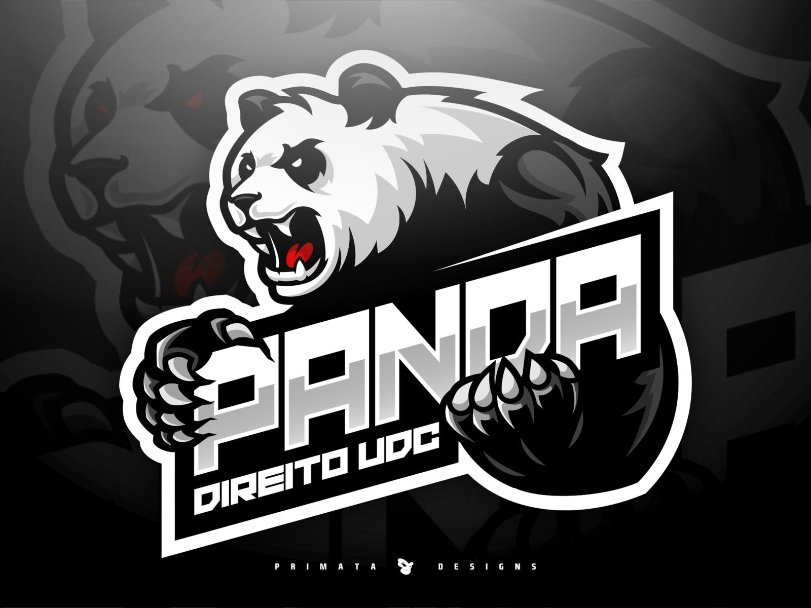 Panda Logo Inspiration Graphics Sports Logo Inspiration Sports Logo Design