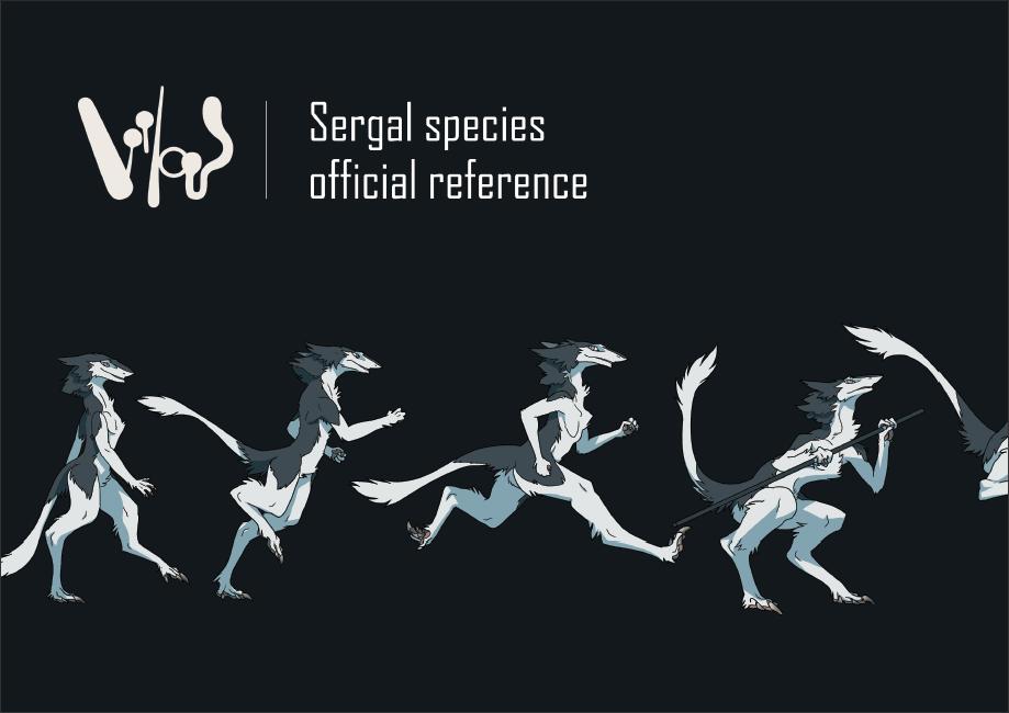 Sergal Anatomy Guide Deluxe eBook + Official Sergal Base
