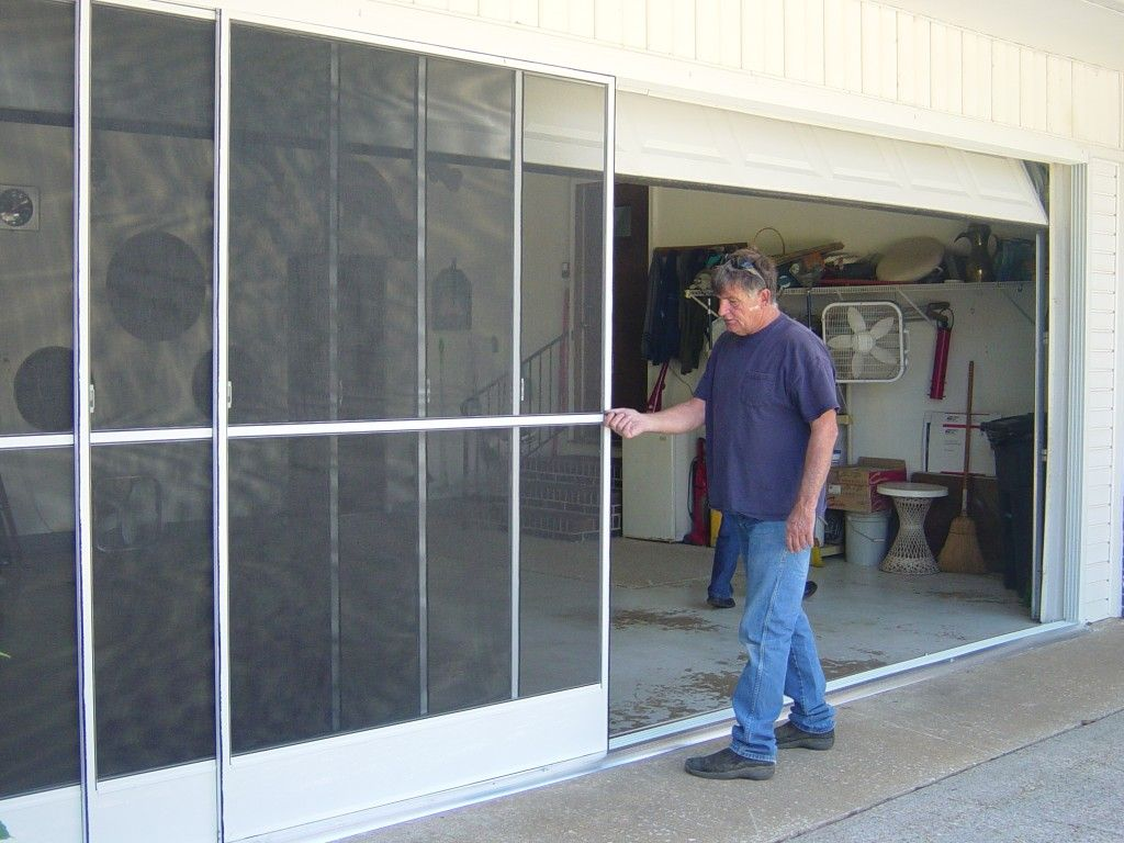 Installing The Screen Doors Home Depot Garage Screen Door