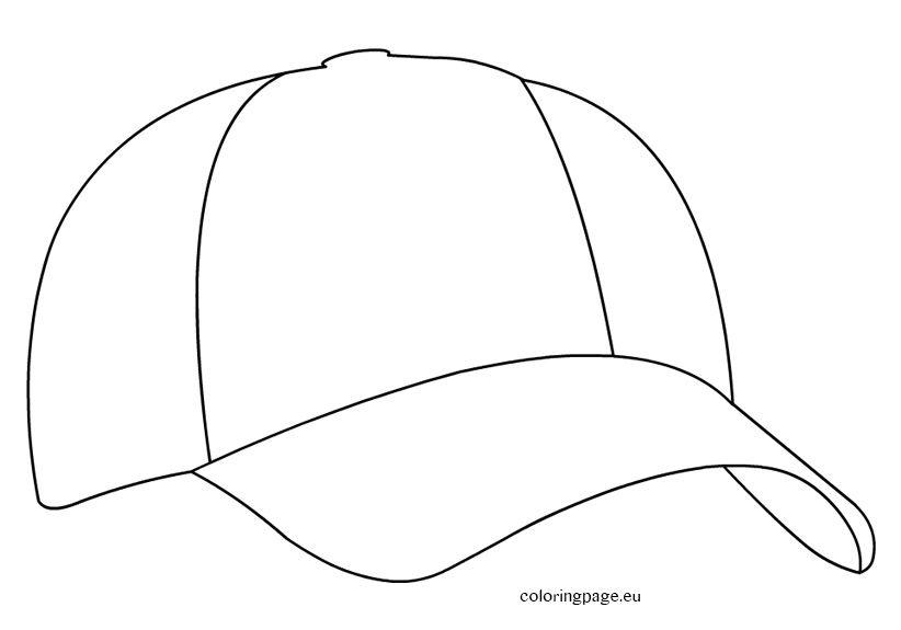Baseball cap digi stamps pinterest baseball cap cap for Baseball cap coloring page