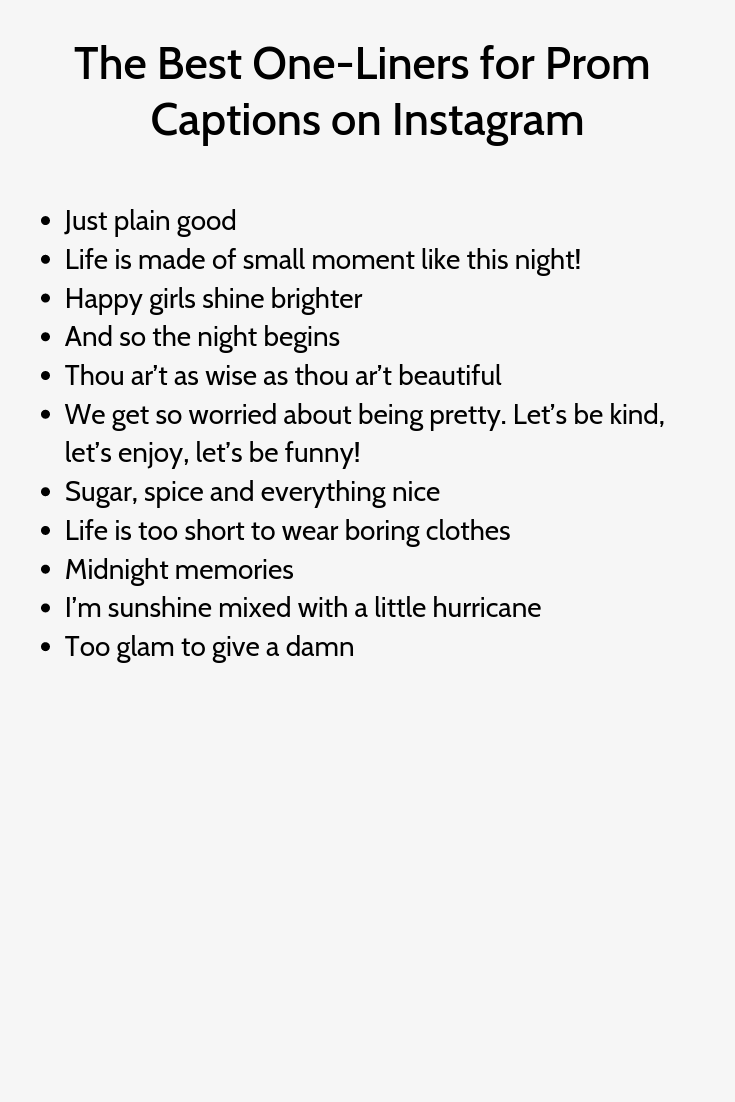 Prom Instagram Captions Love Instagram Captions Inspirational Quotes For Instagram Instagram Captio Prom Captions Instagram Quotes Instagram Quotes Captions