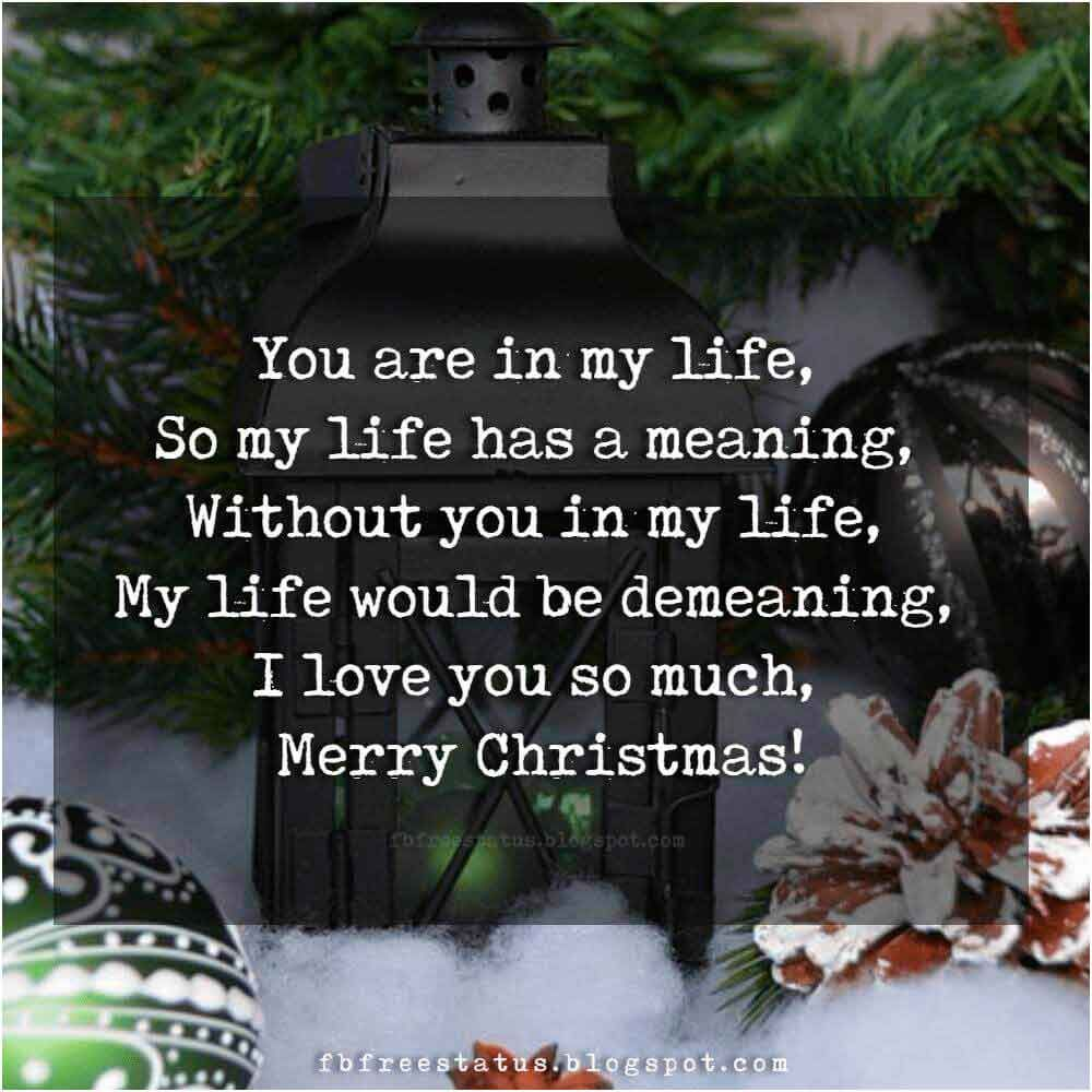 Christmas Love Quotes For Boyfriend And Girlfriend With Images Christmas Love Quotes Love Quotes With Images Christmas Love Messages