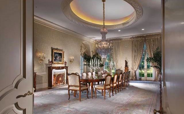 Dining Room From The Spelling Manor