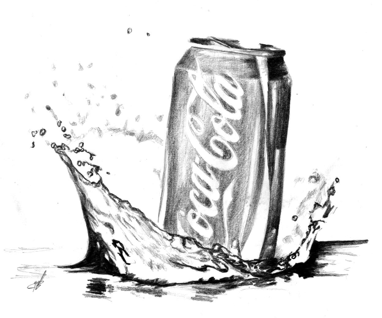 free coloring pages of coke bottle