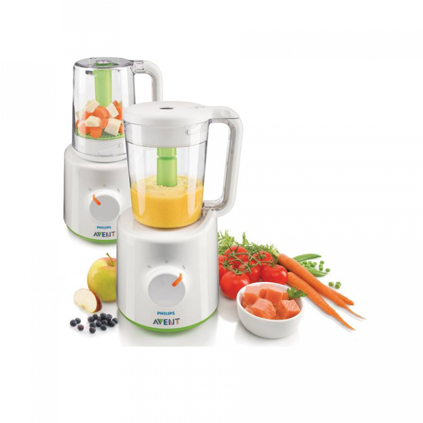 Avent Blender And Steamer Baby Food Steamer Baby Food Recipes Baby Food Makers