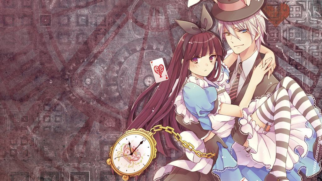 Image result for alice in wonderland anime wallpaper