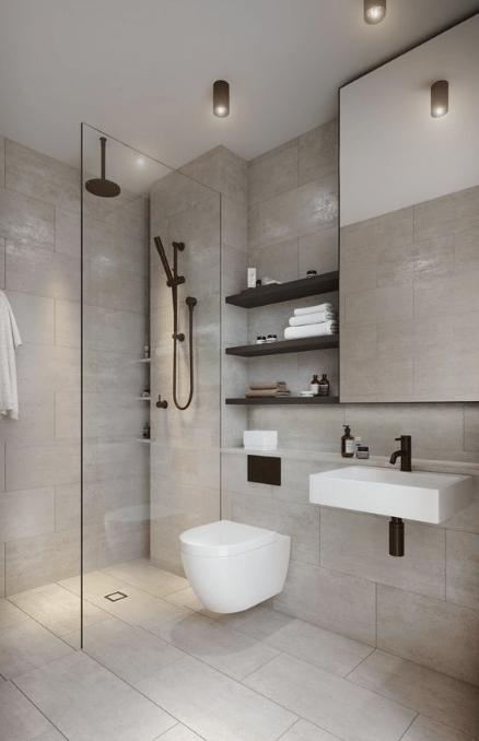 28 Best Minimalist Modern Bathroom Ideas Viviehome Minimalist Bathroom Design Bathroom Interior Design Small Bathroom Interior