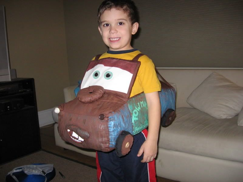 Tow Mater Home Made Costume Halloween Costume Ideas Pinterest