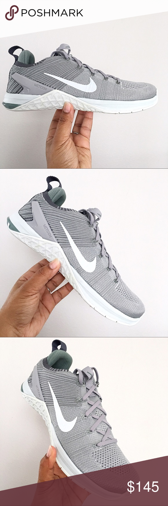 28fe57ba426fe Women s Nike Metcon DSX Flyknit 2 Grey Size 10 Brand New in Box   No ...