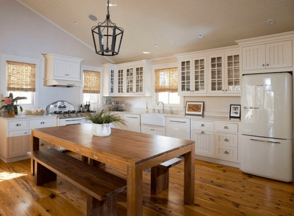 30 best kitchens with vaulted ceilings vaulted ceiling kitchen cottage dining rooms retro on kitchen cabinets vaulted ceiling id=50888