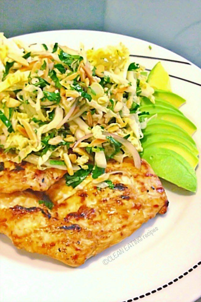 Marinated chicken with asian slaw clean eating recipes facebook marinated chicken with asian slaw clean eating recipes facebook forumfinder Gallery