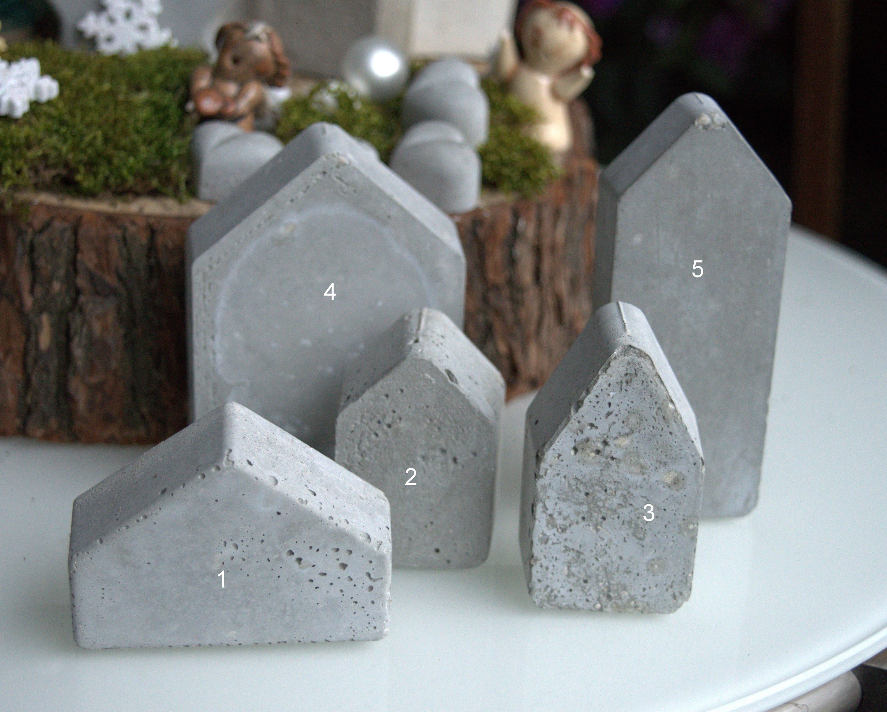 Concrete House Small Beton Cement House Modern Concrete Decor