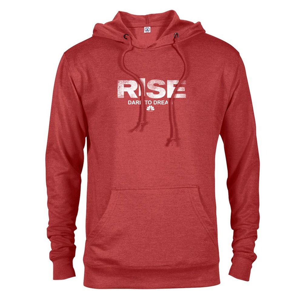 Rise Logo Lightweight Hooded Sweatshirt Sweatshirts Hooded Sweatshirts Hoodies