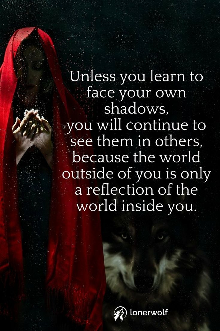 Shadow Self Embracing Your Inner Darkness Well Said Life Quotes