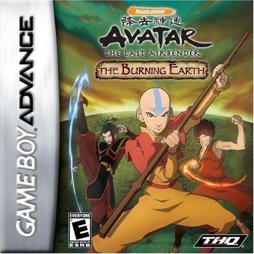 Avatar The Burning Earth Nintendo Game Boy Advance Products