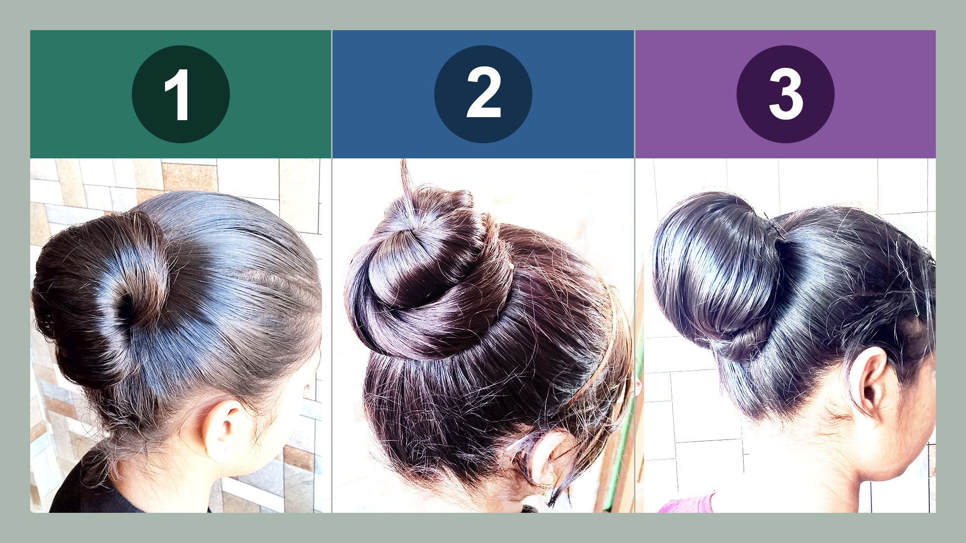 If You Are In A Hurry Try This Stylish Juda Bun Prepared Very