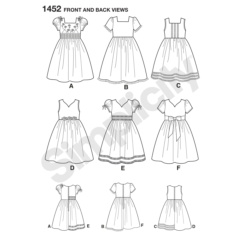 puff sleeve mini dress sewing pattern