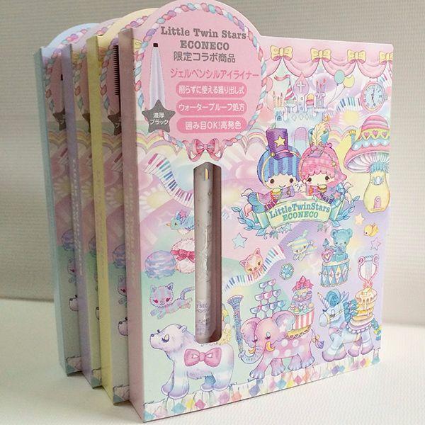 【2014】【LTS x Econeco】Eyeliner (¥1,280), Mascara (¥1,280) ★Little Twin Stars★