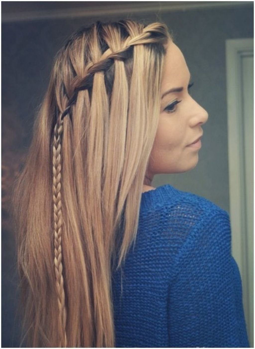 picture of cute braid ideas long hairstyles for straight hair i love doing hair. Black Bedroom Furniture Sets. Home Design Ideas