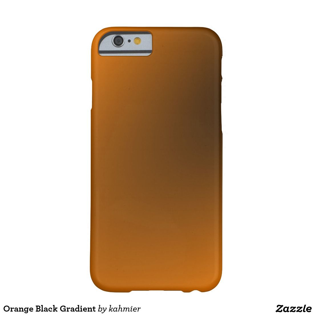 Sold Orange Black Gradient Barely There iPhone 6 Case