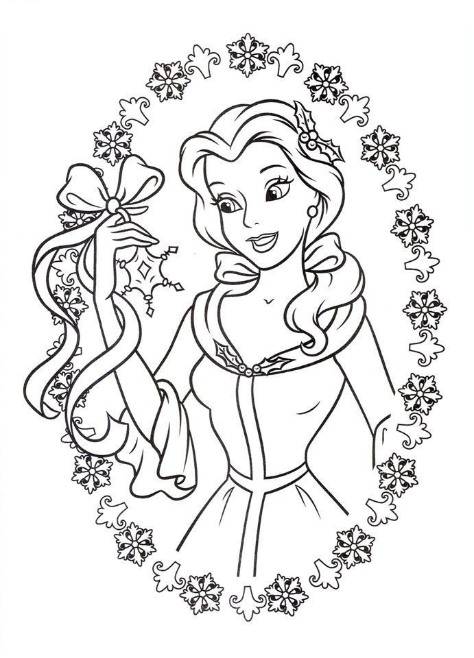 Disney S Beauty And The Beast Colouring Sheets Disney Princess