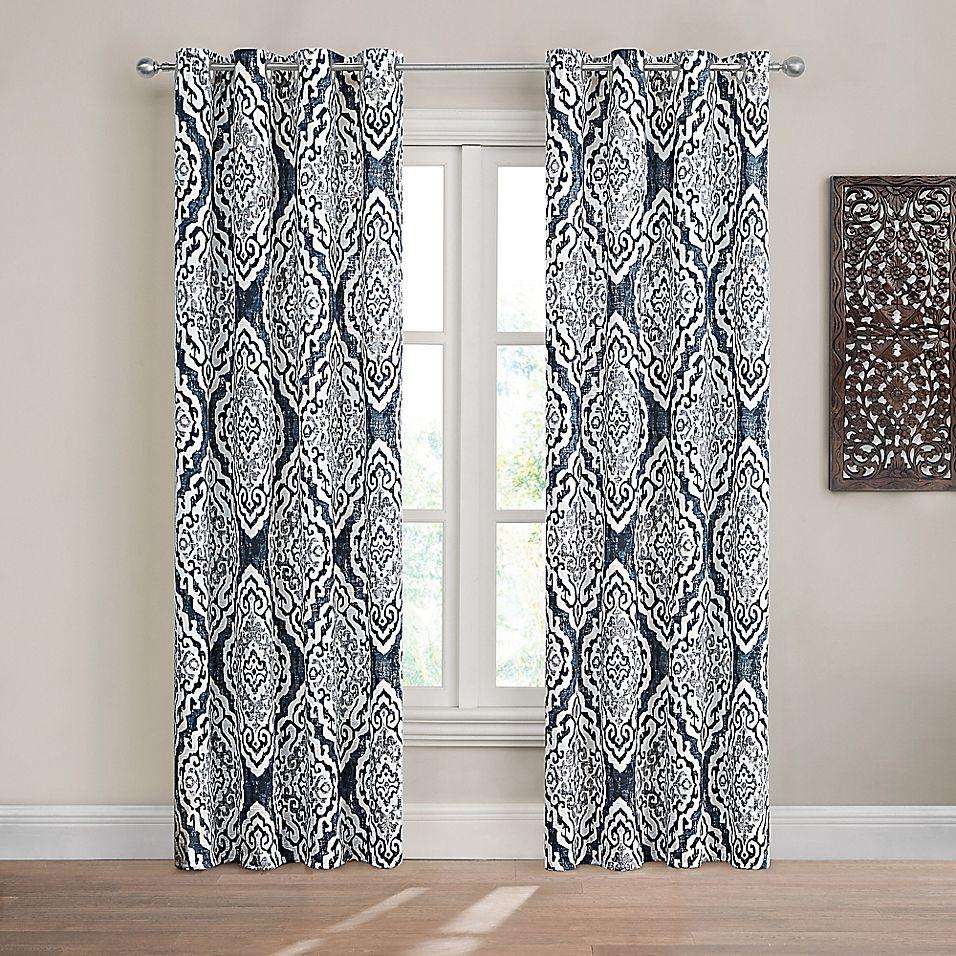 Design Solutions Caleb Grommet Light Filtering Window Curtain