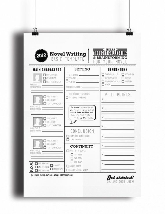 novel writing templates v1 0 by rhinoandasmallbird on etsy novel
