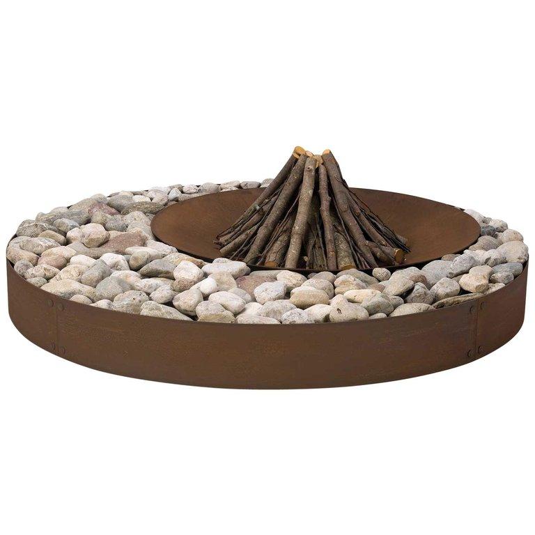 Modern Italian Garden Design: Ak47 Design Steel Zen Fire Pit Modern Italian In 2019