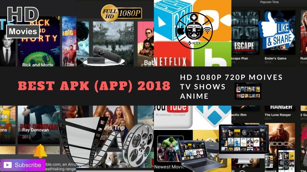 Best apk app hd movies tv anime best apk app 2018 FIRE