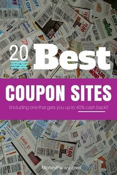 The 21 Best Coupon Sites Updated For 2020 Save Up To 90 Moneypantry Best Coupon Sites Couponing For Beginners Print Coupons