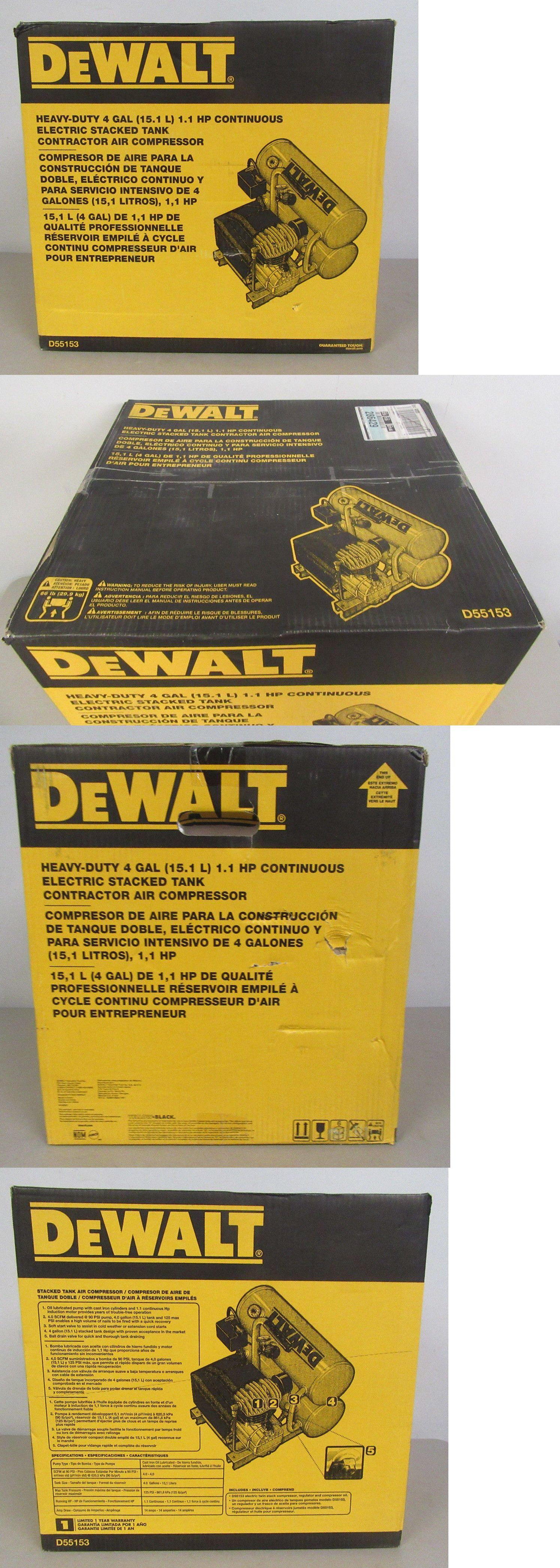 Air Compressors 30506 Dewalt D55153 4 Gal. Portable