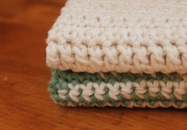Growing Home: FREE Crochet Cotton Dish & Spa Cloth Pattern | Crochet ...
