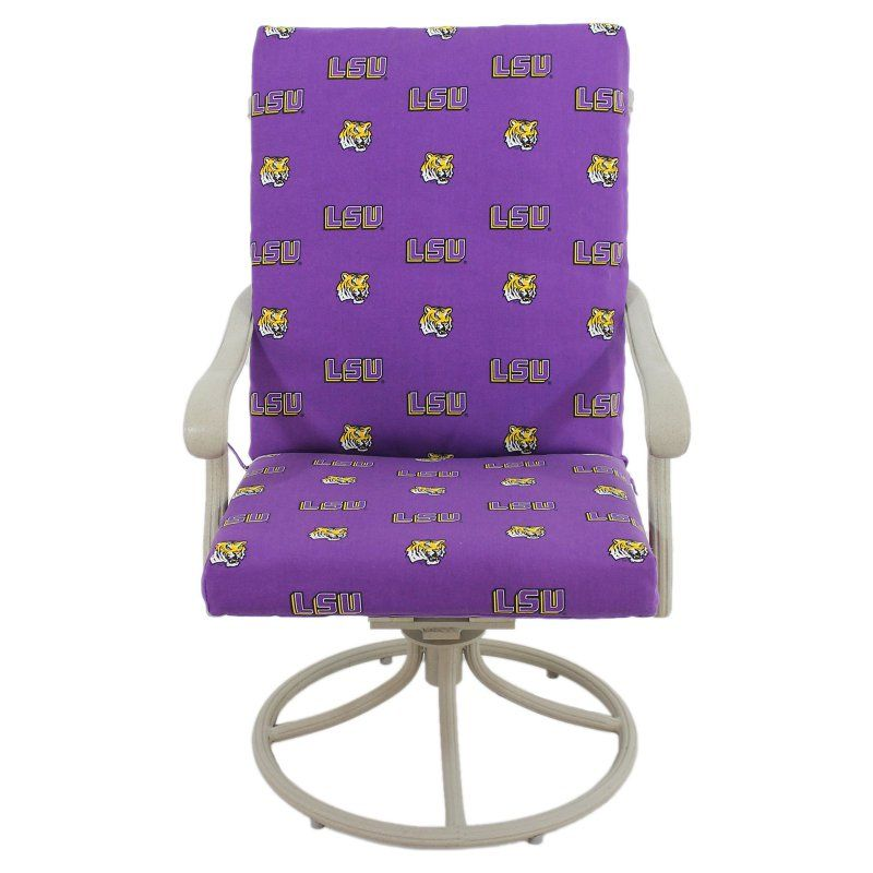 College Covers 46 x 20 in. Chair Cushion - LSUCC