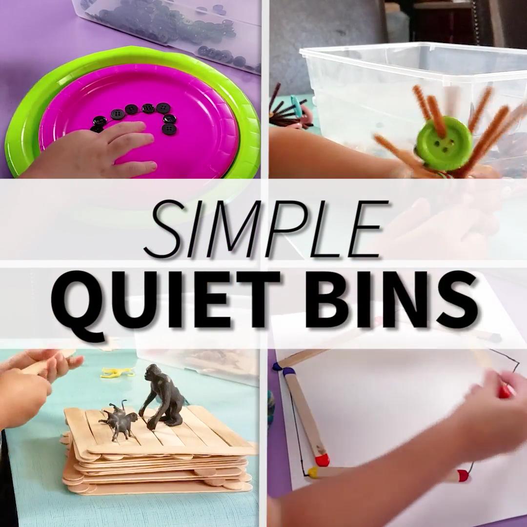 Simple Quiet Bins