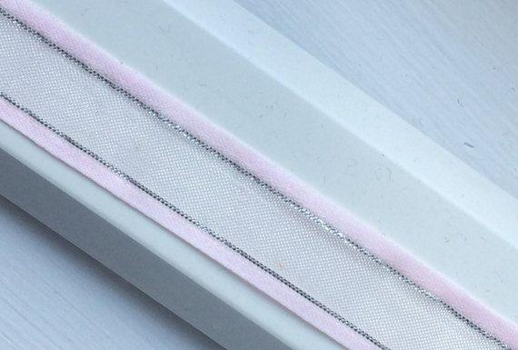 8c9a5d03a6741 Pink & Metallic Silver 5/8