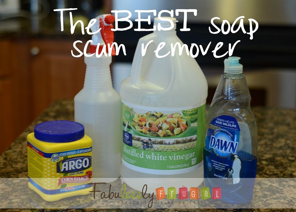 This Is Truly THE BEST Soap Scum Remover. It Works Great And You Probably  Have · Homemade Cleaner RecipesHomemade Shower ...