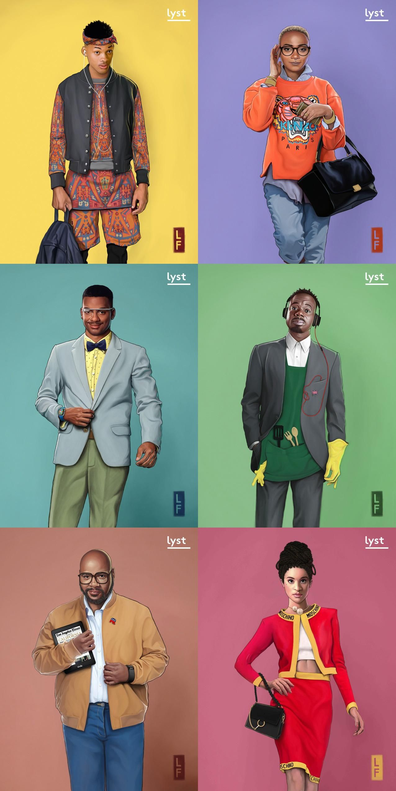 The Fresh Prince Of Bel-Air Cast, Re-Imagined For 2015 -1026