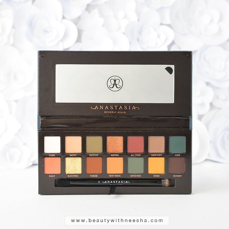 Review and Swatch: Anastasia Beverly Hills Subculture Palette ...