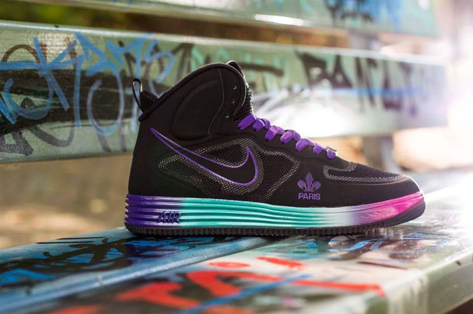 Nike Lunar Force 1 Mid Fuse QS  Paris   fe0199700