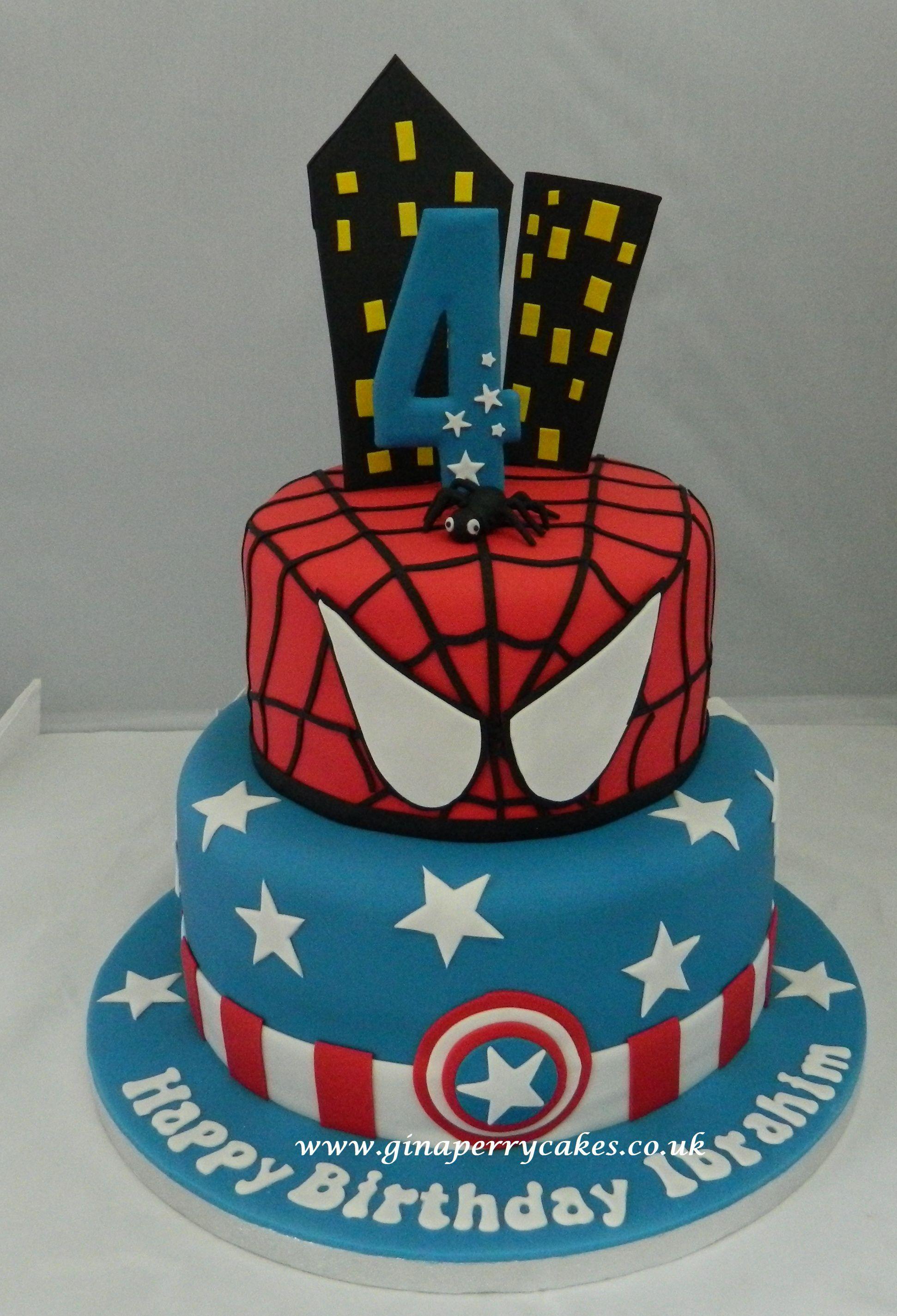 Spiderman And Captain America
