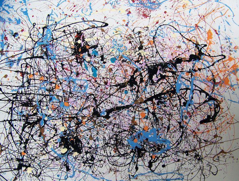 Jackson Pollock Maestro Del Expresionismo Abstracto Jackson Pollock Jackson Pollock Art Pollock Art
