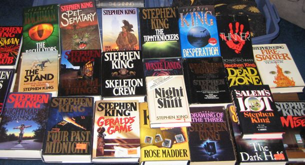 Every Stephen King Novel Summarized In 140 Characters Or Less
